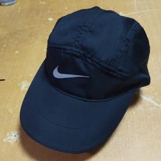 NIKE - NIKE ナイキ キャップ 帽子 黒 DRI-FIT AEROBILL