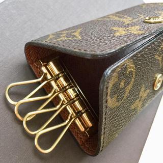 LOUIS VUITTON - 極美品 正規品ルイヴィトンモノグラムキーケース