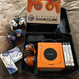ニンテンドーゲームキューブ(ニンテンドーゲームキューブ)の任天堂 ゲームキューブ本体セット & ソフト3本(家庭用ゲーム本体)