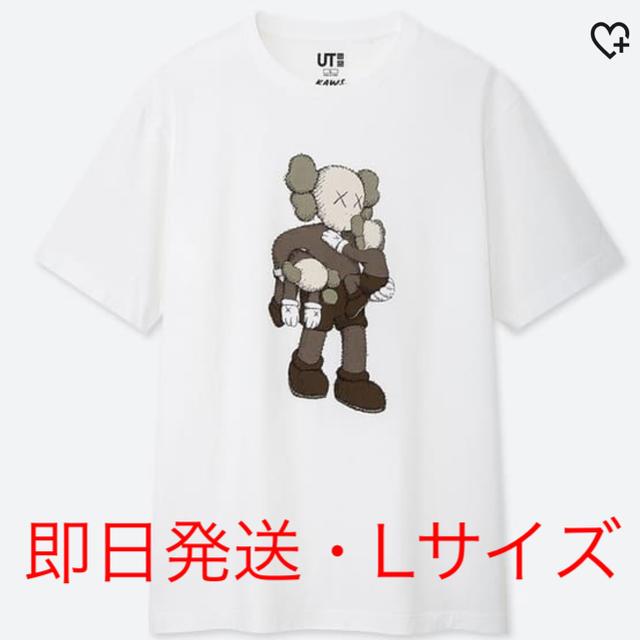 UNIQLO(ユニクロ)の【Lサイズ】kaws × UT カウズ ユニクロ Tシャツ 422019 メンズのトップス(Tシャツ/カットソー(半袖/袖なし))の商品写真