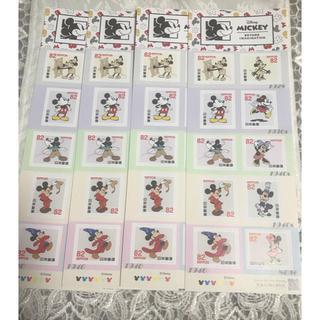 ミッキーシール切手82円×40枚◎3280円分新品