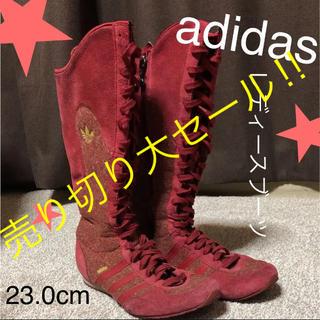 adidas - 値下げ⭐︎ブーツ【レッド‼️】アディダス レディース adidas
