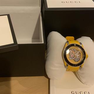 Gucci - GUCCI イエロー時計 売り切ります^_^