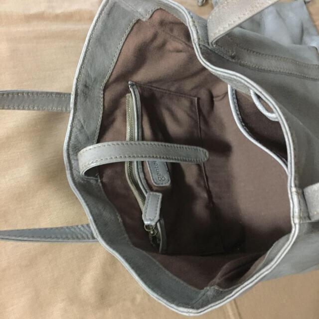 genten(ゲンテン)のゲンテン ゴートヌメ  トート バッグ ポーチ付 レディースのバッグ(トートバッグ)の商品写真