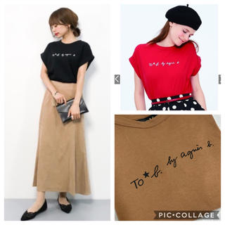 agnes b. - 今期 To b. by agnes b. Tシャツ