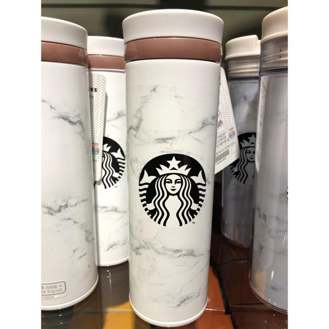 Starbucks Coffee(スターバックスコーヒー)の専用出品! タンブラー スタバ 韓国 限定 日本 未入荷 新品 大理石 インテリア/住まい/日用品のキッチン/食器(タンブラー)の商品写真
