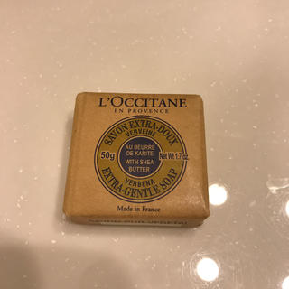 ロクシタン(L'OCCITANE)のロクシタン シアソープ ヴァーベナ 50g(ボディソープ / 石鹸)