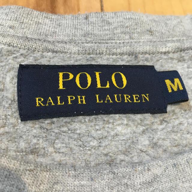 POLO RALPH LAUREN(ポロラルフローレン)のラルフローレン スウェット グレー M メンズのトップス(スウェット)の商品写真