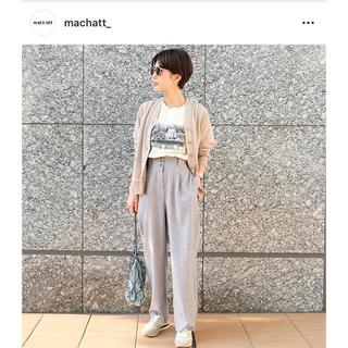 DEUXIEME CLASSE - 【未使用】machatt マチャット タックワイドレッグパンツ