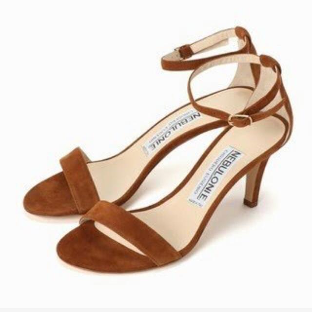 DEUXIEME CLASSE(ドゥーズィエムクラス)のネブローニNEBULONI.Eアンクルストラップサンダル レディースの靴/シューズ(サンダル)の商品写真