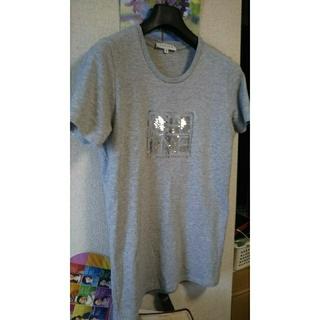 セリーヌ(celine)のセリーヌ  半そで   M  size  グレイ  (Tシャツ(半袖/袖なし))