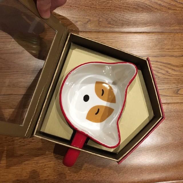 Starbucks Coffee(スターバックスコーヒー)のスターバックス 中国 ワンチャン コーギー マグカップ インテリア/住まい/日用品のキッチン/食器(グラス/カップ)の商品写真