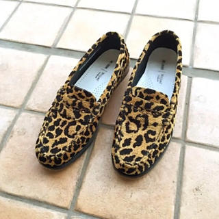 ドゥーズィエムクラス(DEUXIEME CLASSE)のセール♡ドゥーズィエムクラス RE/DONE LEOPARD LOAFER 40(ローファー/革靴)