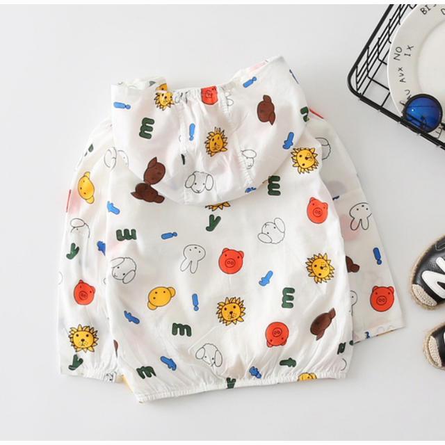 ミッフィー miffy ウィンドブレーカー おでかけ プール 海 キッズ/ベビー/マタニティのキッズ服 女の子用(90cm~)(ジャケット/上着)の商品写真