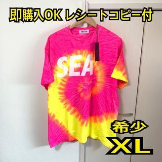 Supreme - 最安値 完売品 XLwind and sea Tシャツ タイダイ ピンク
