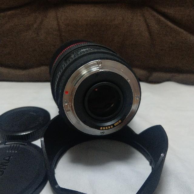 SIGMA(シグマ)のシグマ  24-70mm F2.8 EX DG MACROキャノン スマホ/家電/カメラのカメラ(レンズ(ズーム))の商品写真