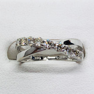 K10WG ダイヤモンド リング  D:0.30ct(リング(指輪))