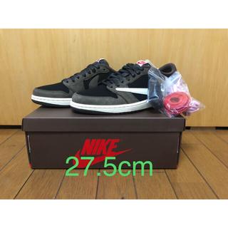 ナイキ(NIKE)のNike Air Jordan1 Low Travis Scott 27.5cm(スニーカー)