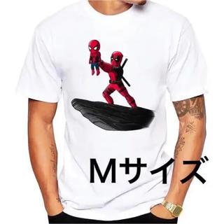 patagonia - 再入荷! デッドプール スパイダーマン おもしろTシャツ メンズ Mサイズ