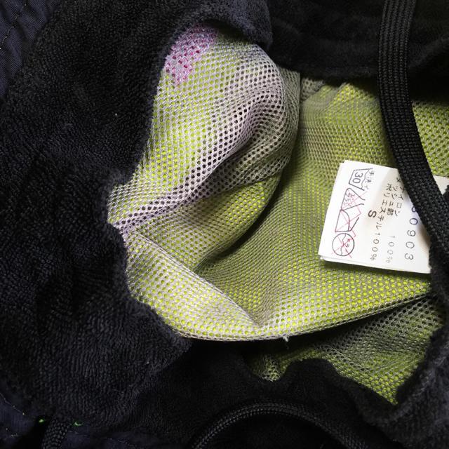 THE NORTH FACE(ザノースフェイス)のノースフェイス ブラマーハット キッズ ライトグリーン×ピンク 男女兼用 子供  キッズ/ベビー/マタニティのこども用ファッション小物(帽子)の商品写真