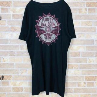 Msize USA製 Harley-Davidson TEE BLACK(Tシャツ/カットソー(半袖/袖なし))