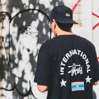 ステューシー(STUSSY)のstussy international arc tee(Tシャツ/カットソー(半袖/袖なし))