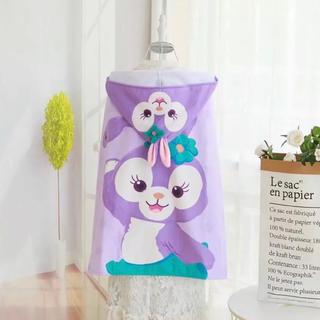 Disney - 大人気💖ステラルー フード付きバスタオル