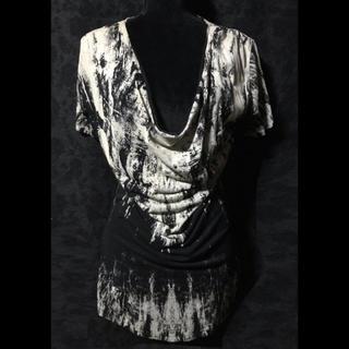 CIVARIZE シヴァーライズ シヴァ ドレープシャツ 半袖 ユニセックス(Tシャツ/カットソー(半袖/袖なし))