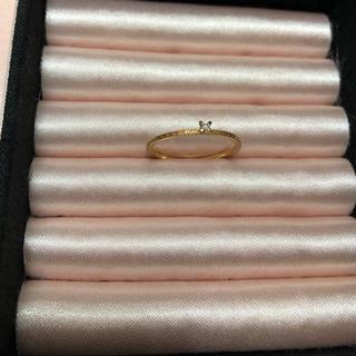 アガット(agete)のagete ダイヤモンドリング 11号 限定品(リング(指輪))