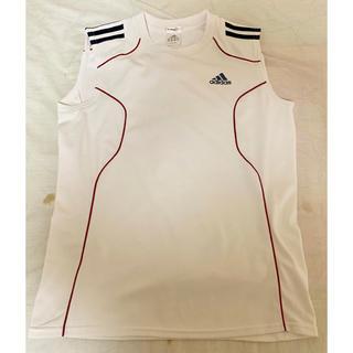 アディダス(adidas)の アディダス ランニング&トレーニングウェア 半袖ノースリーブサイズ L(ウェア)