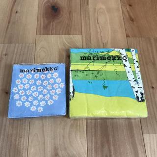 マリメッコ(marimekko)のマリメッコmarimekko ペーパーナプキンセット(収納/キッチン雑貨)