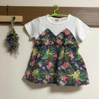 Branshes - ♡美品♡RADCHAP  100 アロハ ボタニカル柄 Tシャツ