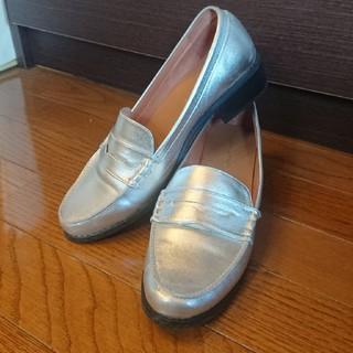 オリエンタルトラフィック(ORiental TRaffic)のオリエンタルトラフィック ローファー シルバー ヒール(ローファー/革靴)