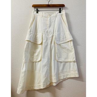 ツモリチサト(TSUMORI CHISATO)のツモリチサト ニューセームコットン&ジャージスカート 美品(ロングスカート)
