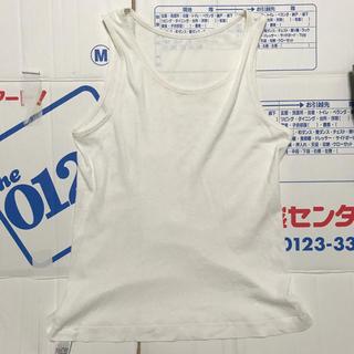 ムジルシリョウヒン(MUJI (無印良品))の男児 ランニングシャツ 白 無印良品 150cm(下着)
