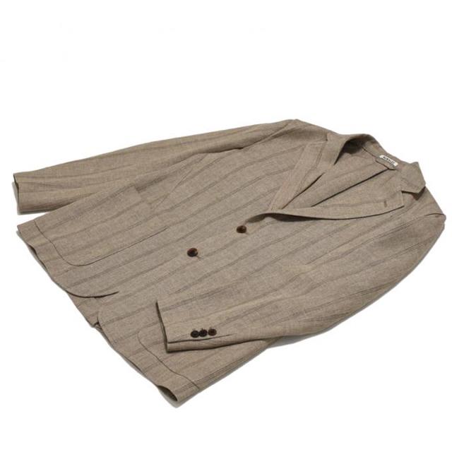 COMOLI(コモリ)のLINEN WOOL SILK SHARK SKIN JACKET  メンズのジャケット/アウター(テーラードジャケット)の商品写真