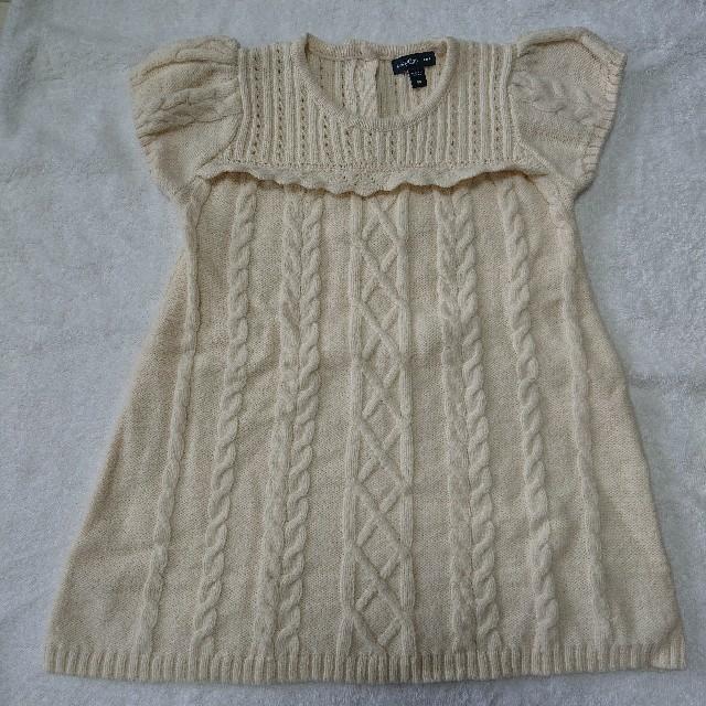 babyGAP(ベビーギャップ)のbaby Gap  ニットワンピース キッズ/ベビー/マタニティのキッズ服 女の子用(90cm~)(ワンピース)の商品写真
