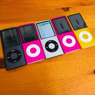 Apple - iPod nano 第4世代 16GB×1 8GB×4 A1285 ジャンク5台