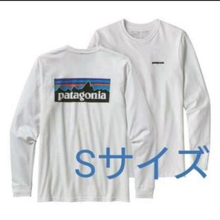 patagonia - 新品未使用 patagonia P-6 ロング ホワイト Sサイズ