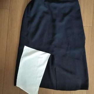 アメリヴィンテージ(Ameri VINTAGE)の大人気ameri MANY CLOTH BLOCK SK(ひざ丈スカート)