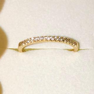 スタージュエリー(STAR JEWELRY)のヴァンドーム青山のエタニティリングK18 ダイヤ0.1カラット(リング(指輪))