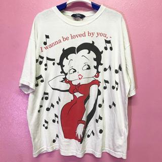 Betty Boop ビッグシルエットTシャツ(Tシャツ(半袖/袖なし))