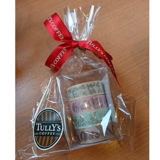 タリーズコーヒー(TULLY'S COFFEE)の鳥獣戯画 タリーズ TULLY'S COFFEE×かまわぬ マスキングテープ(テープ/マスキングテープ)
