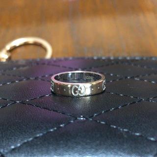 グッチ(Gucci)のGUCCI★アイコンリング 指輪★750[1695 MI]★used良い品(リング(指輪))