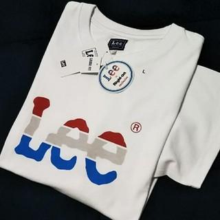 Lee - 【新品タグ付】 LEE ロゴTシャツ/グラデーション/ L/ホワイト