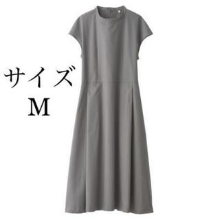 MUJI (無印良品) - 【今期新作 】新疆綿ピンオックスフレンチスリーブワンピース 2019 新品