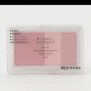 ムジルシリョウヒン(MUJI (無印良品))の無印 ミックスカラーチーク ハイライト 美品(フェイスカラー)