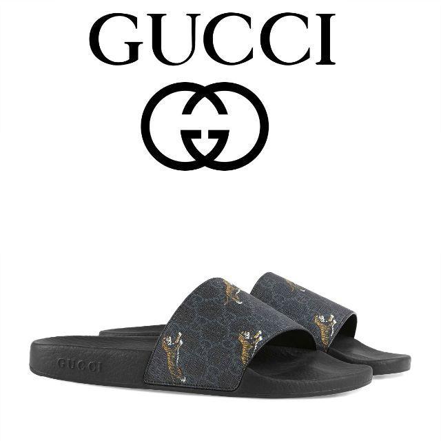 Gucci(グッチ)の【9】GUCCI 19aw スライドサンダル size 10 メンズの靴/シューズ(サンダル)の商品写真