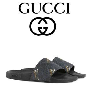 グッチ(Gucci)の【9】GUCCI 19aw スライドサンダル size 10(サンダル)