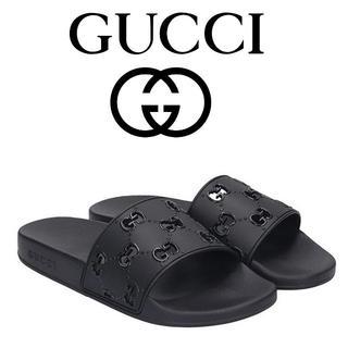 グッチ(Gucci)の【8】GUCCI 19aw GGスライドサンダル size 10(サンダル)